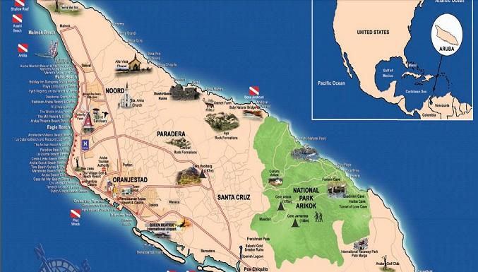 Casinos in aruba map cartable chipie sans roulette